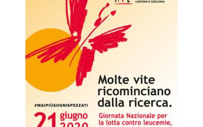 21 giugno – Giornata Nazionale contro le Leucemie, Linfomi e Mieloma.