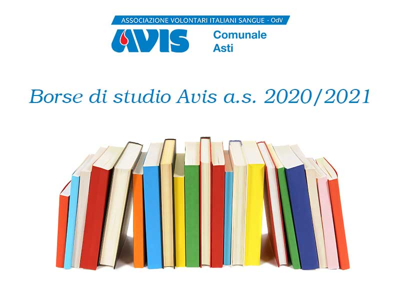 Borse di studio Avis – a.s. 2020/2021